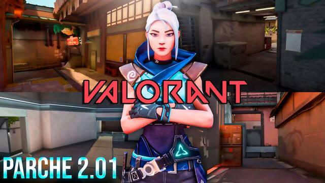 Valorant v2.01: Numerosos cambios en el mapa Split y otras mejoras