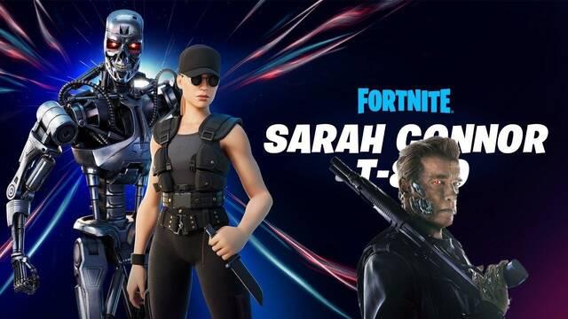 Fortnite Battle Royale recibe un pack con Sarah Connor y T-800