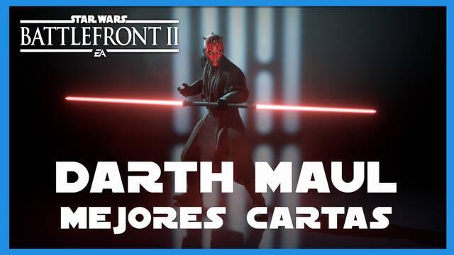 Darth Maul en Star Wars Battlefront 2: mejores cartas y consejos