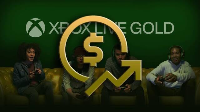 Xbox Live Gold sube de precio.