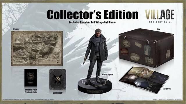 Ya se puede reservar la edición coleccionista de Resident Evil 8: Village.