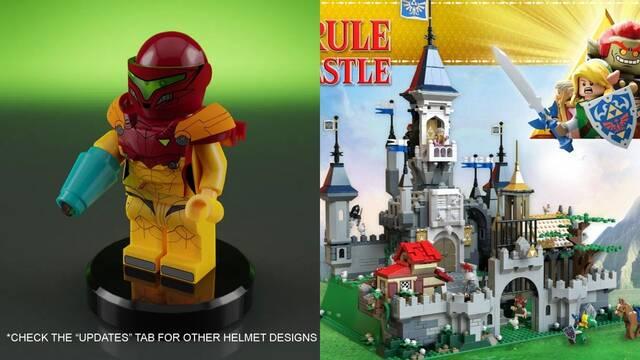 LEGO estudiará sets inspirados en Metroid y The Legend of Zelda.