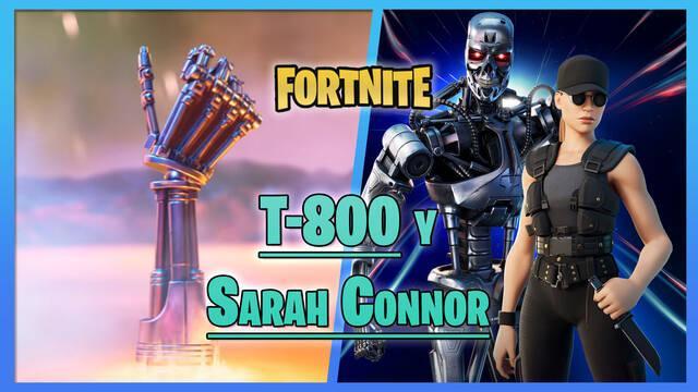 Fortnite: Terminator T-800 y Sarah Connor ya disponibles - ¿Cómo conseguirlos?