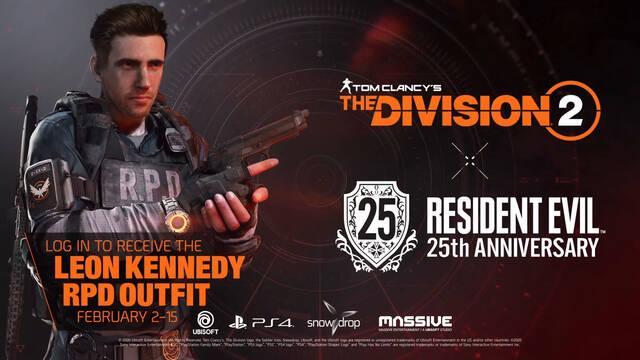 The Division 2 y Resident Evil colaboración