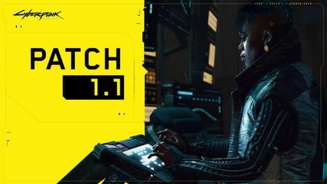 Ya disponible el parche 1.1 de Cyberpunk 2077.