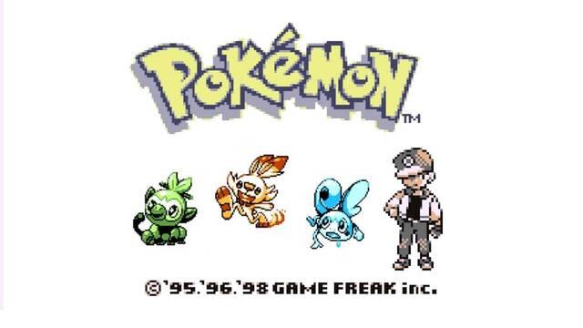 Imaginan los Pokémon de Espada y Escudo con el diseño de los juegos de Game Boy.