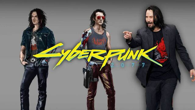 Se desvela el diseño de Johnny Silverhand antes de la llegada de Keanu Reeves a Cyberpunk 2077.