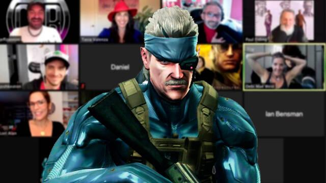 Actores de Metal Gear Solid reunidos en chat