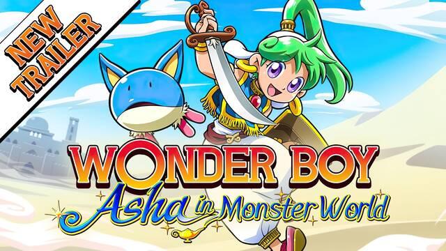 Wonder Boy: Asha in Monster World tráiler y ediciones físicas