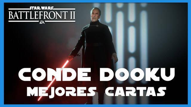 Conde Dooku en Star Wars Battlefront 2: mejores cartas y consejos