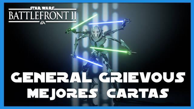 General Grievous en Star Wars Battlefront 2: mejores cartas y consejos