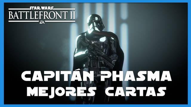 Capitán Phasma en Star Wars Battlefront 2: mejores cartas y consejos