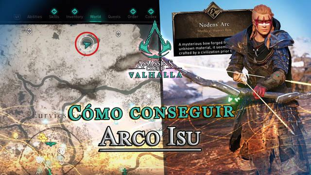 AC Valhalla: Cómo conseguir el arco secreto de Noden paso a paso