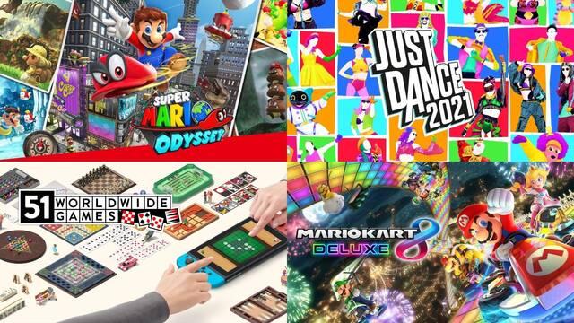 Juegos más vendidos en España del 4 al 10 de enero de 2021