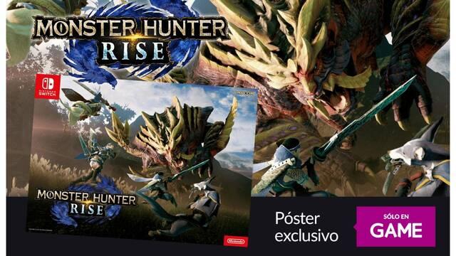 GAME regalará un póster exclusivo a quienes reserven Monster Hunter Rise.