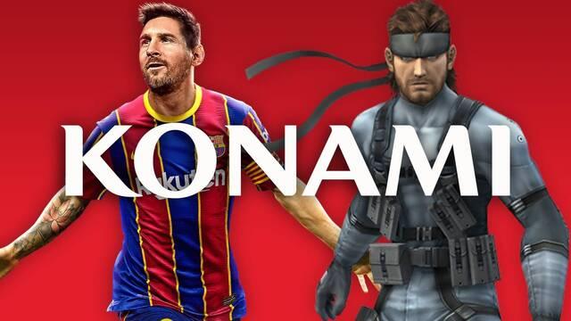 Konami aclara que no dejará de hacer videojuegos.