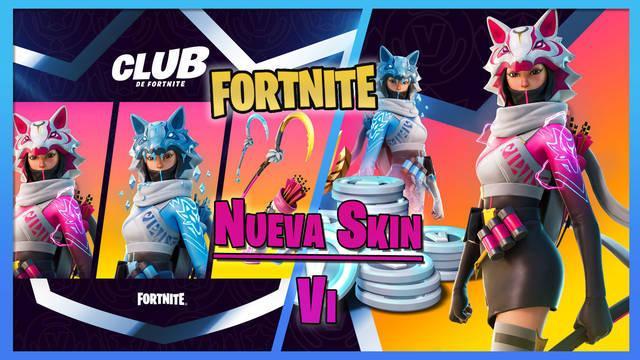 Fortnite: Vi es la nueva skin del Club de Fortnite en febrero 2021; detalles
