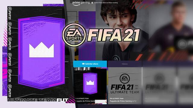 FIFA 21: Consigue gratis sobres mensuales para FUT con Prime Gaming