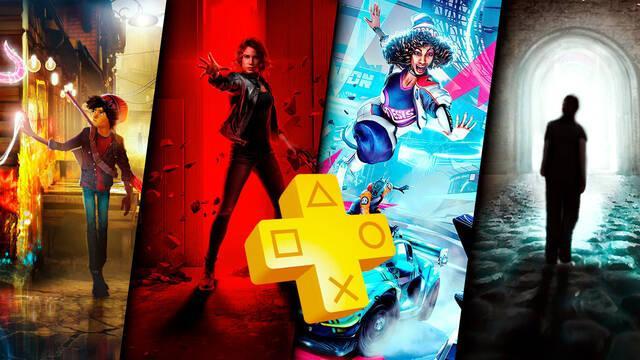 PS Plus febrero 2021 ya disponibles juegos PS5 y PS4 Control, Destruction All Stars, Concrete Genie y Dawn of Fear