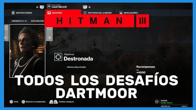 Hitman 3: TODOS los desafíos de Dartmoor y cómo completarlos