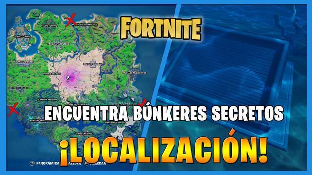 Fortnite: dónde encontrar el búnker secreto