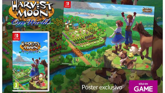 GAME y las reservas de Harvest Moon: One World