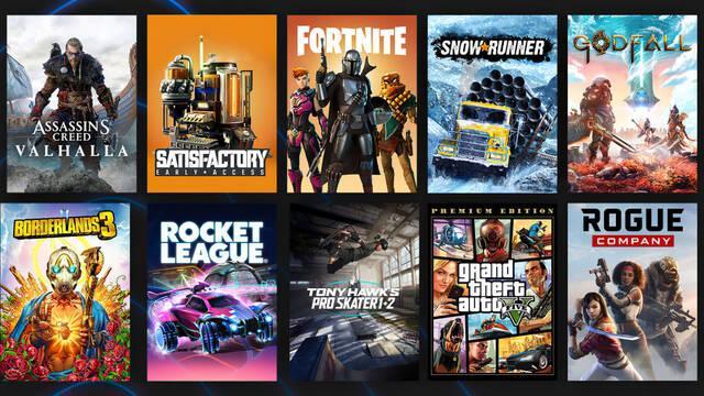 Epic Games Store llegó a los 160 millones de usuarios en 2020