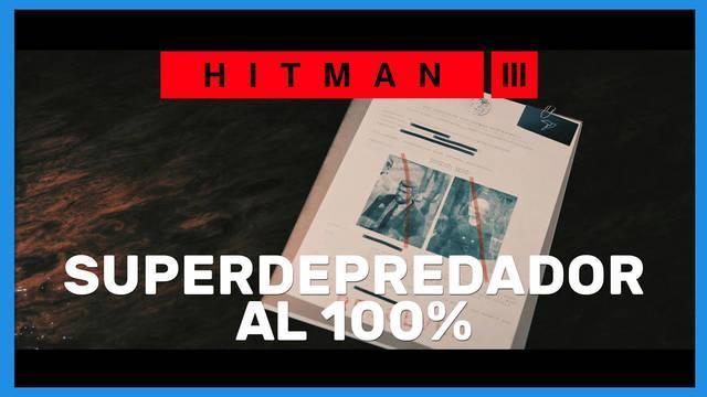 Superdepredador en Hitman 3 al 100%