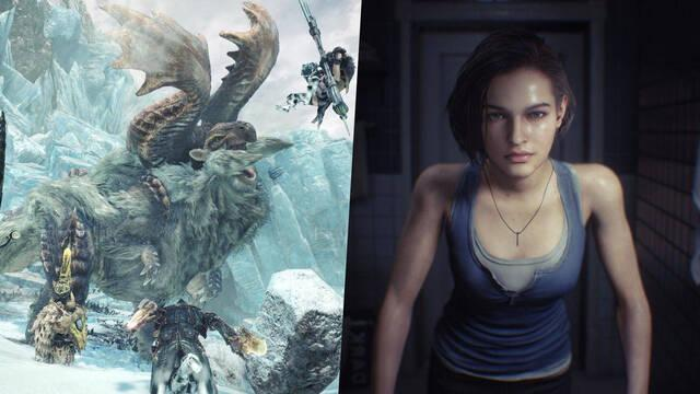 Capcom ventas Resident Evil 3 REmake Monster Hunter