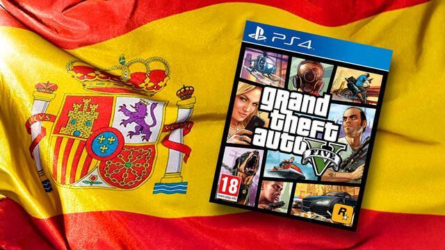 GTA 5 el juego más vendido del año en  España en 2020