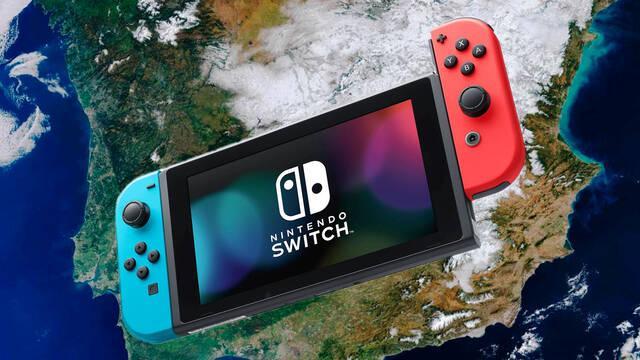 Nintendo Switch la consola más vendida en España en 2020