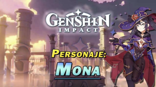 Mona en Genshin Impact: Cómo conseguirla y habilidades
