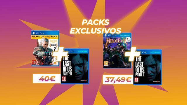 TTDV anuncia dos packs exclusivos de juegos de PS4 a precio reducido