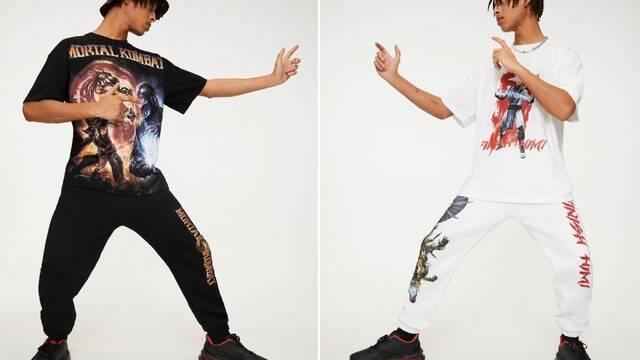 Pull&Bear lanza una línea de ropa inspirada en Mortal Kombat