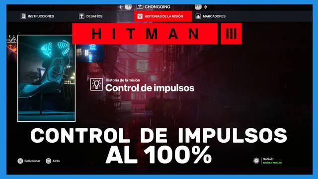 Control de impulsos en Hitman 3 al 100%