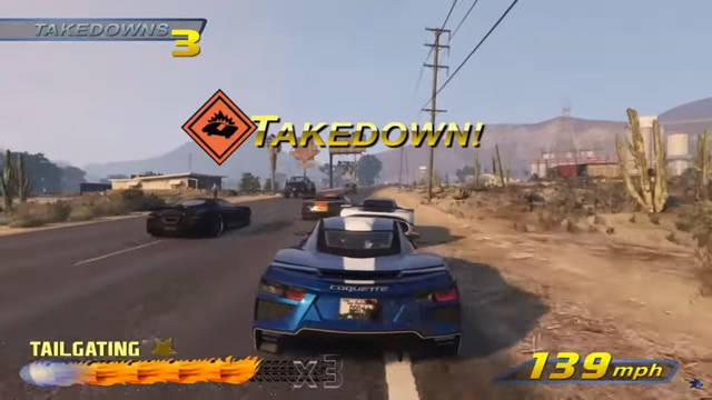 Burnout 3 Takedown GTA Online
