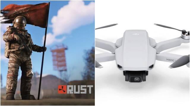 Rust prepara la llegada de drones a sus servidores