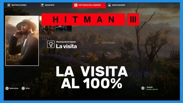 La visita en Hitman 3 al 100%