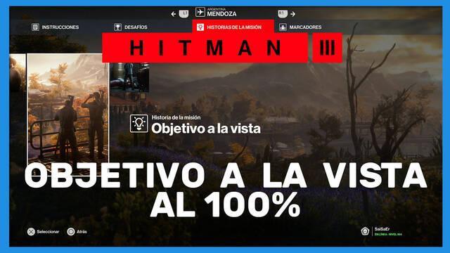 Objetivo a la vista en Hitman 3 al 100%