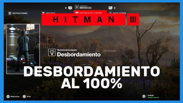 Desbordamiento en Hitman 3 al 100%
