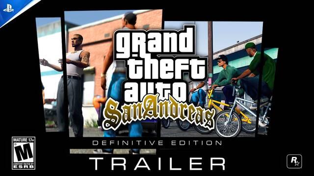 GTA San Andreas Definitive Edition PS5