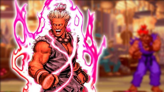 Shin Akuma secreto en Street Fighter Alpha 2