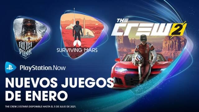 Juegos de enero de PS Now.
