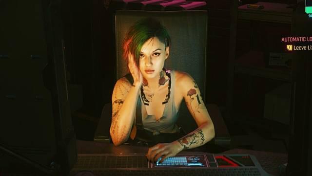 Cyberpunk 2077 y el romance de Judy
