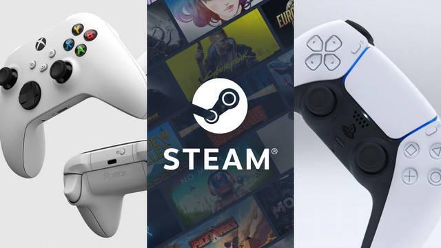 Steam DualSense mando Xbox Series