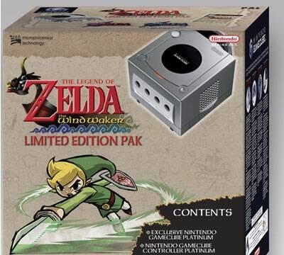 Confirmado el pack GameCube Platinum + Zelda