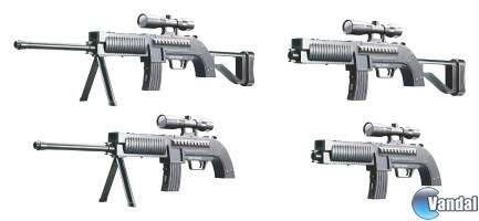 Lanzan un accesorio para Wii con aspecto de rifle francotirador