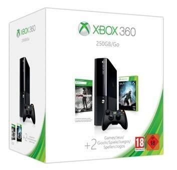 Microsoft lanza un pack de Xbox 360 con disco duro de 250GB, Halo 4 y Tomb Raider
