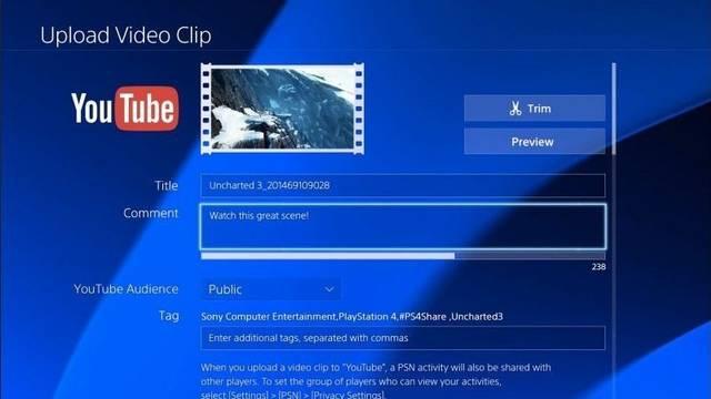 Una imagen de la aplicación de Youtube en PS4 levanta rumores sobre Uncharted Collection