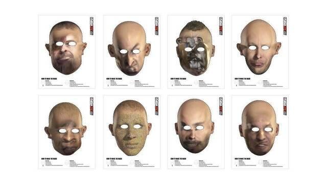 NBA 2K15 ofrece máscaras de Halloween con los escaneos faciales defectuosos
